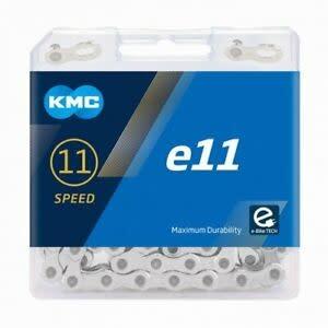 KMC KMC E11 E-Bike Chain - 11 Speed, 136 Links, Silver