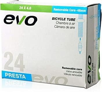 EVO Evo, 26x2.4-2.8, PV 48mm RC Enduro 1.35/1.45mm Wall Thickness Removable Valve Core