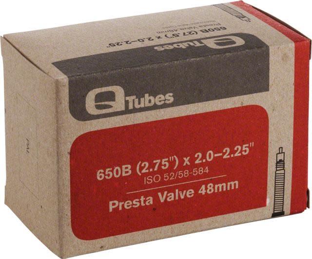 """Q-Tubes Q-Tubes 27.5"""" x 2.0-2.25"""" 48mm Presta Valve"""