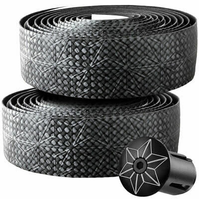 Supacaz Supacaz, Bling, Handlebar Tape, Black Carbon