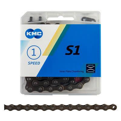 KMC KMC, S1, Chain, Speed: 1, 1/8'', Links: 112, Brown