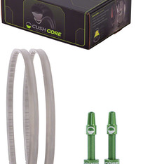 CushCore CushCore Gravel/CX Tire Inserts Set for 700c x 33-46mm Tires, Includes 2 Tubeless Valves