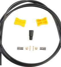 Shimano Shimano SM-BH59-JK Low Pressure Disc Brake Hose Kit - Straight Caliper Caliper Connector, 2000mm, Black