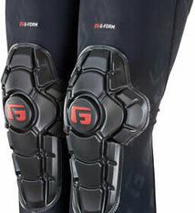 G-Form G-Form Pro-X2 Knee Pads - Black Embossed, X-Large