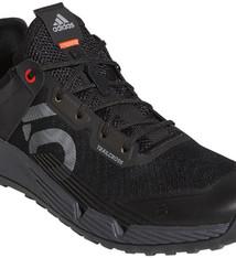 Five Ten Five Ten Trailcross LT Flat Shoe - Men's, Core Black / Grey Two / Solar Red, 8