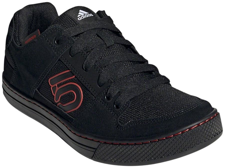 Five Ten Five Ten Freerider Flat Shoe - Men's, Core Black / Cloud White / Cloud White, 12