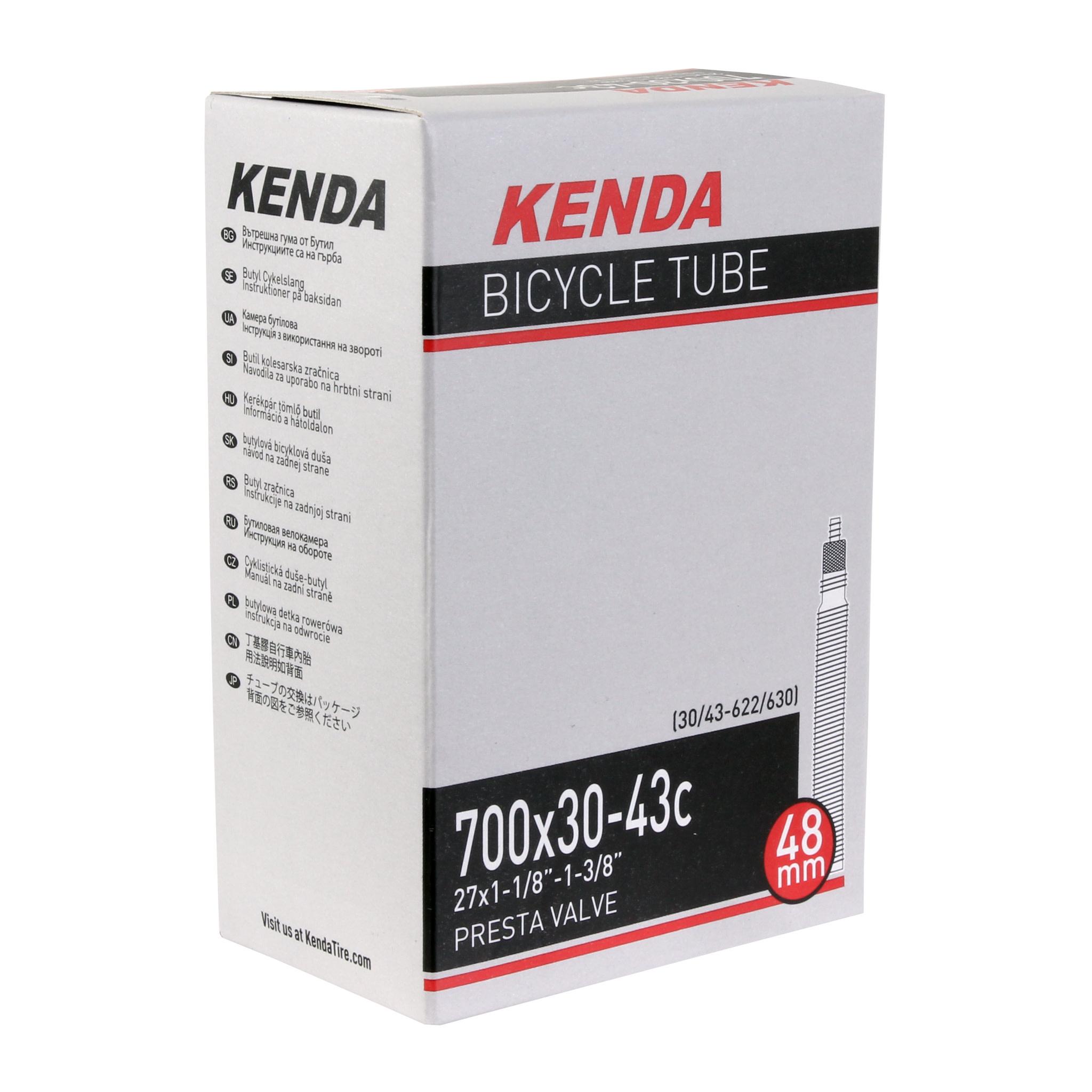 Kenda Kenda, Butyl Tube, 700 x 30-43c PV/48mm - Each