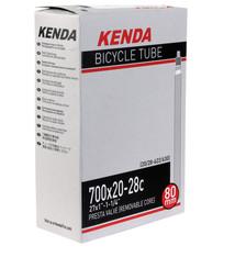 Kenda Kenda, Butyl Tube, 700 x 20-28c PV/80mm RVC - Each