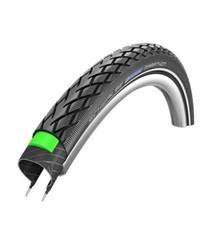 Schwalbe Schwalbe Marathon Tire - 26 x 1.5, Clincher, Wire, Black/Reflective ,Performance Line