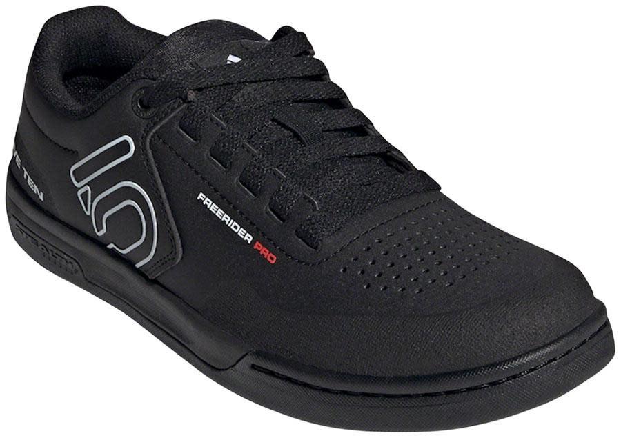 Five Ten Five Ten Freerider Pro Flat Shoe - Men's, Core Black / Cloud White / Cloud White, 10