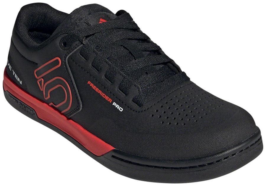 Five Ten Five Ten Freerider Pro Flat Shoe - Men's, Core Black / Core Black / Cloud White, 8