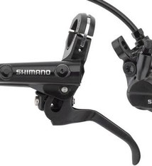 Shimano Shimano Deore BL-MT501/BR-MT520 Disc Brake and Lever - Front, Hydraulic, Post Mount, Black
