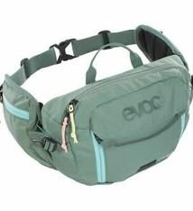 EVOC EVOC, Hip Pack 3L + 1.5L Bladder, Hydration Bag, Volume: 3L, Bladder: Included (1.5L), Olive