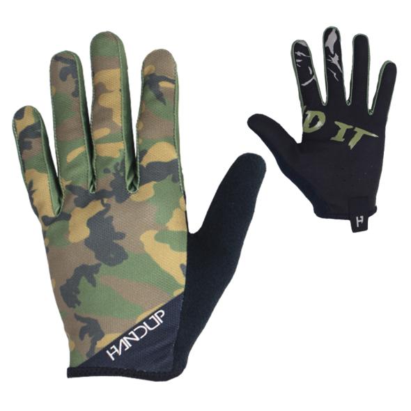 Handup Gloves - Woodland Camo - Small