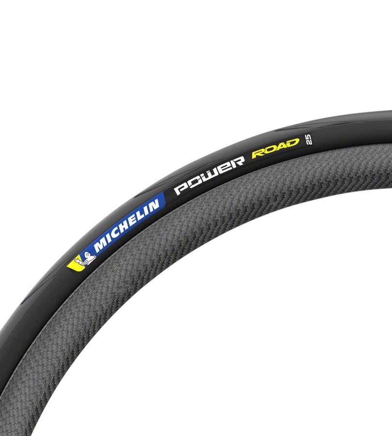 Michelin Michelin Power Road TS Tire - 700 x 25, Clincher, Folding, Black