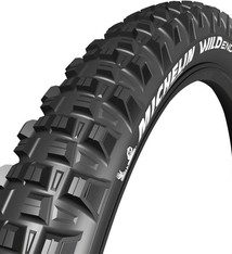 Michelin Michelin, E-Wild Front, Tire, 27.5''x2.80, Folding, Tubeless Ready, E-GUM-X, GravityShield, 3x60TPI, Black
