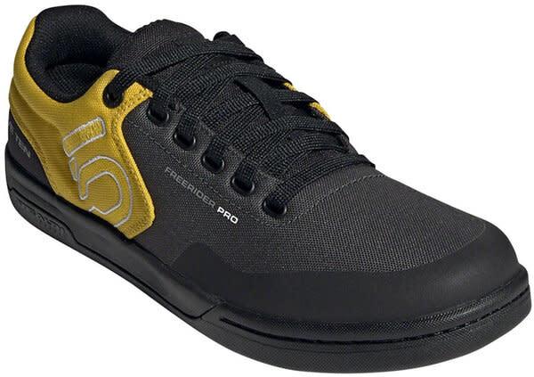 Five Ten Five Ten Freerider Pro Primeblue Flat Shoe - Men's, DGH Solid Grey / Grey Three / Acid Mint, 7.5