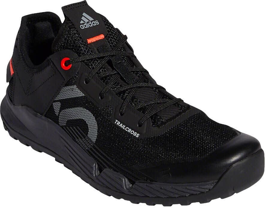 Five Ten Five Ten Trailcross LT Flat Shoe  -  Women's, Legacy Green / Signal Coral / Core Black, 6.5