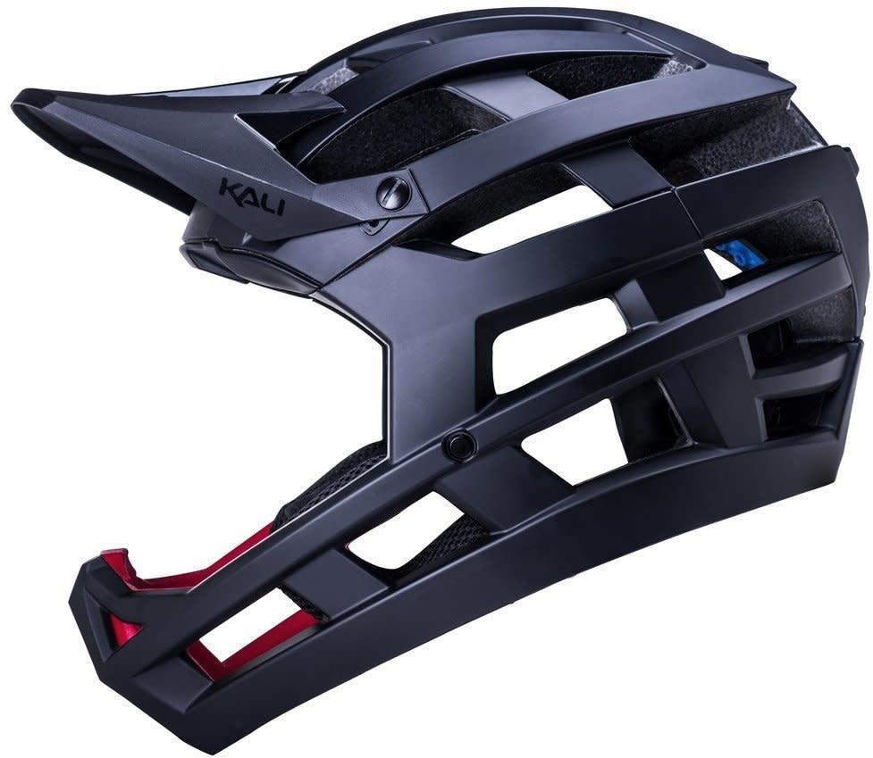 KALI KALI, Invader Full Face Enduro Helmet, Blk - XS-M