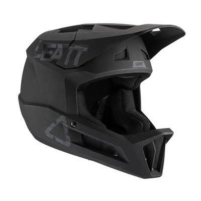 Leatt Leatt, MTB 1.0 DH, Full Face Helmet, Black, S, 55 - 56cm