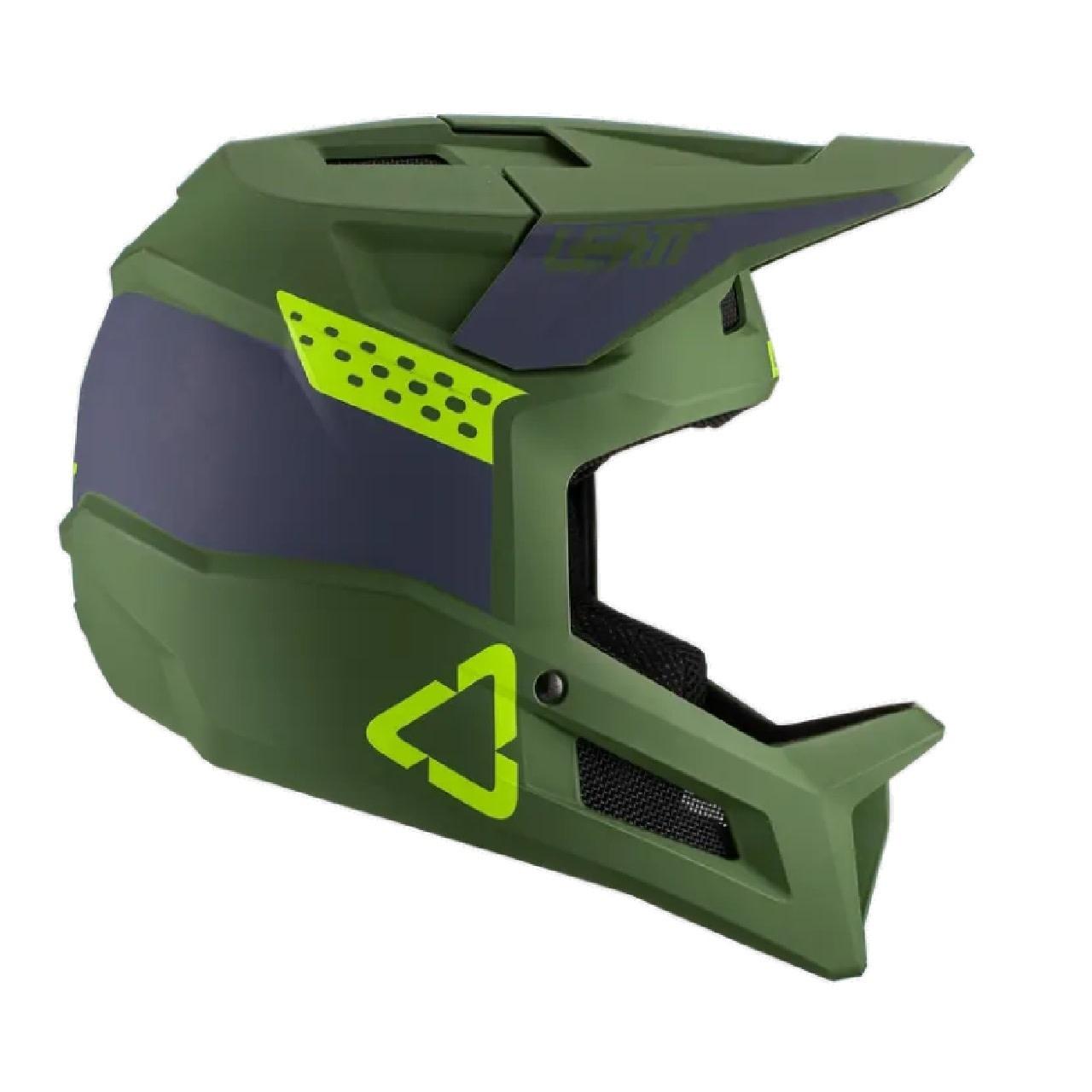 Leatt Leatt, MTB 1.0 DH, Full Face Helmet, Cactus, L, 59 - 60cm