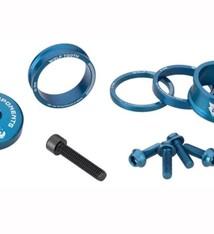 Wolf Tooth Components Wolf Tooth Components, Anodized Bling Kit - Blue