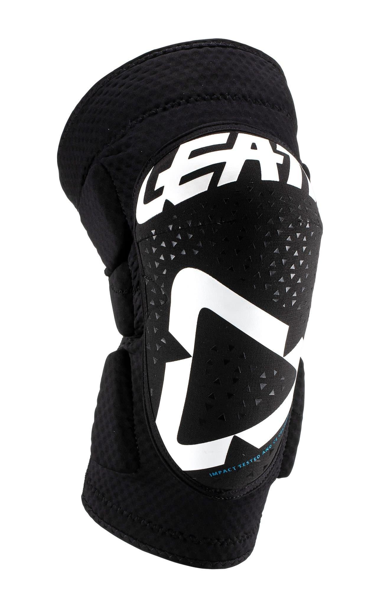 Leatt Leatt, 3DF 5.0 Mini, Knee/Shin Guard, Youth, White/Black, S, Pair
