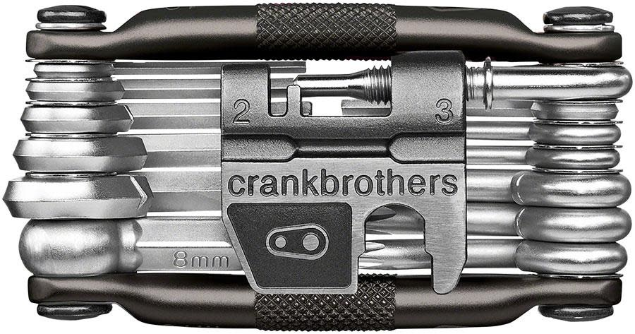 Crank Brothers Crank Brothers, Multi-19 Mini Tool with Flask, Midnight Edition