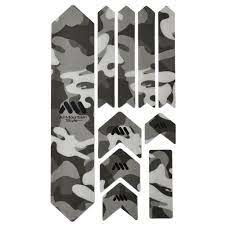 All Mountain Style Full Honeycomb Frame Guard, Clear/Camo