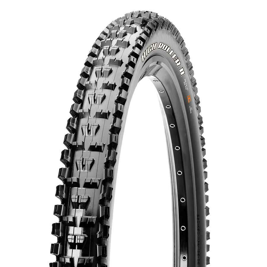 Maxxis Maxxis, High Roller II, 27.5x2.40, Folding, 3C Maxx Terra, Tubeless Ready, EXO, 60TPI, 60PSI, Black