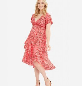 Glow Mama Holly Wrap Dress - XS & S