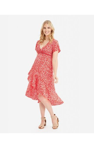 Glow Mama Holly Wrap Dress