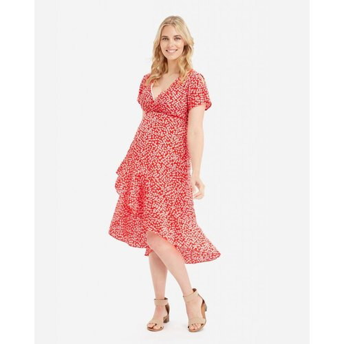 Glow Mama Holly Wrap Dress