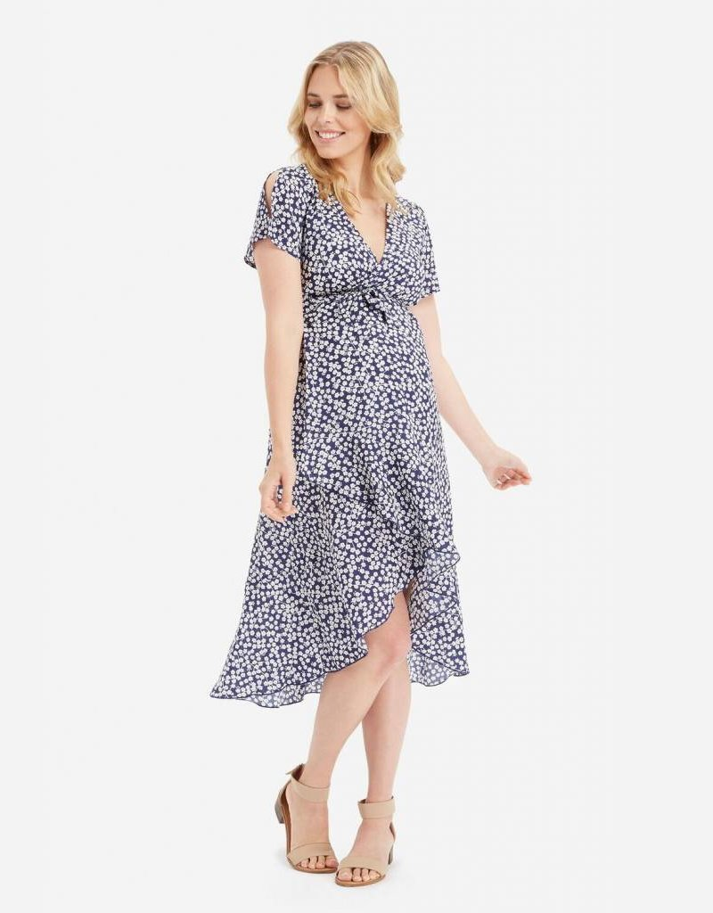 Glow Mama Isla Wrap Dress
