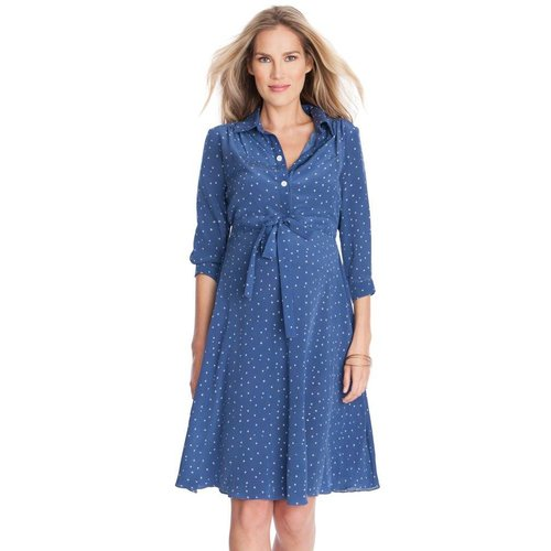 Seraphine Virginia Maternity Shirt Dress