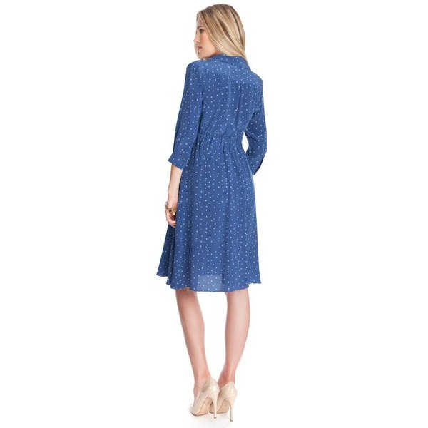 Virginia Maternity Shirt Dress