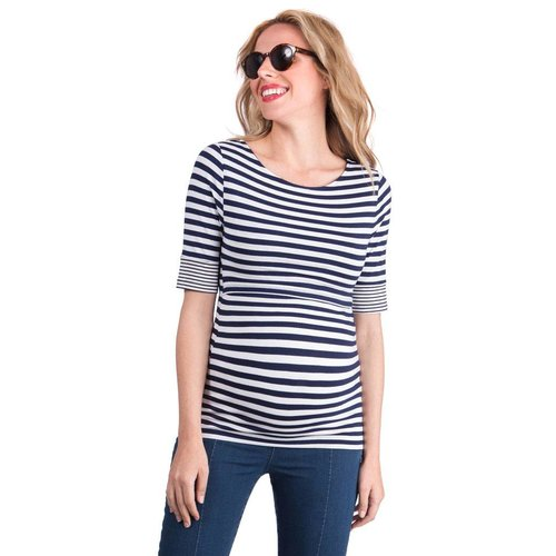 Seraphine Lovelle Boatneck Nursing Top