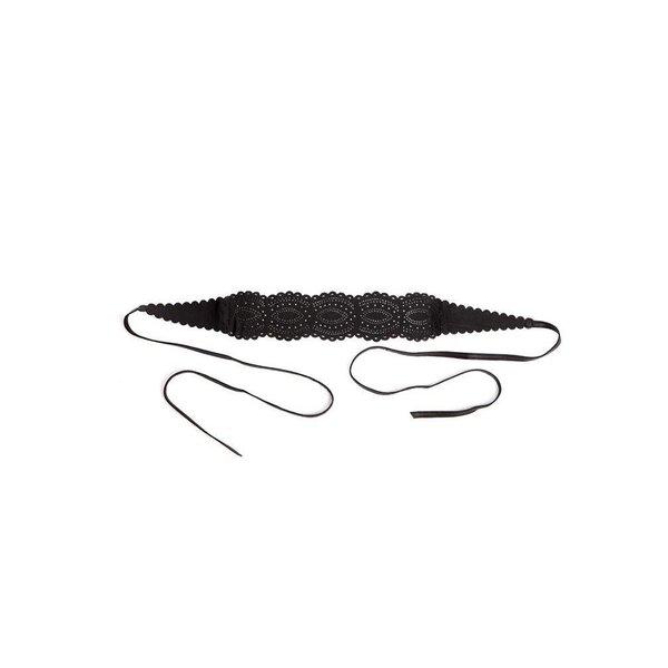 Amelia Lace Cut Belt