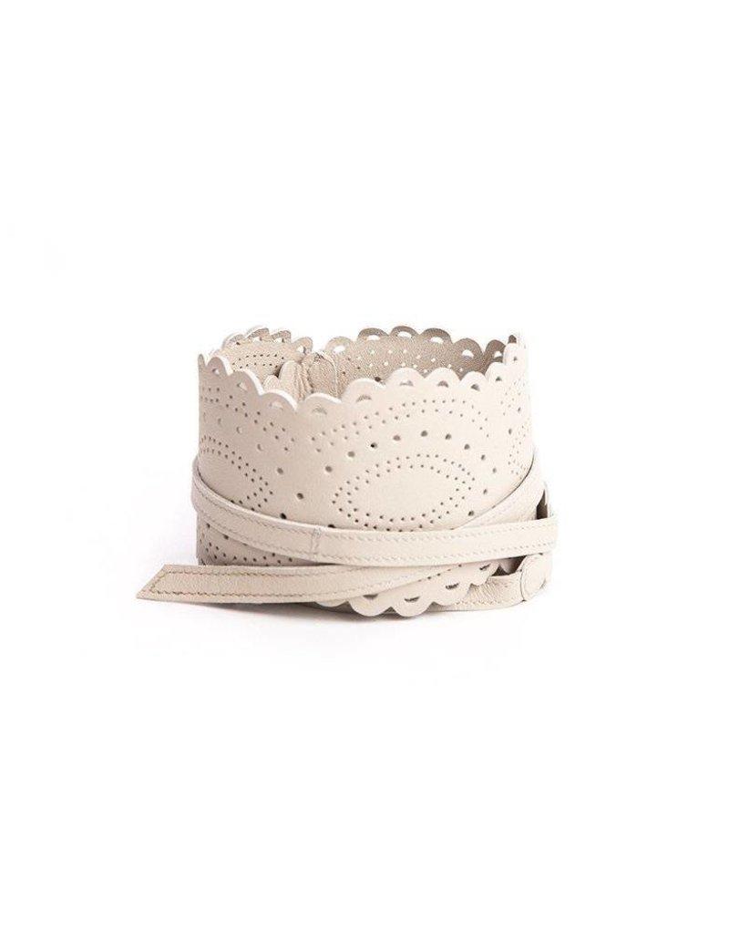 Seraphine Amelia Lace Cut Belt