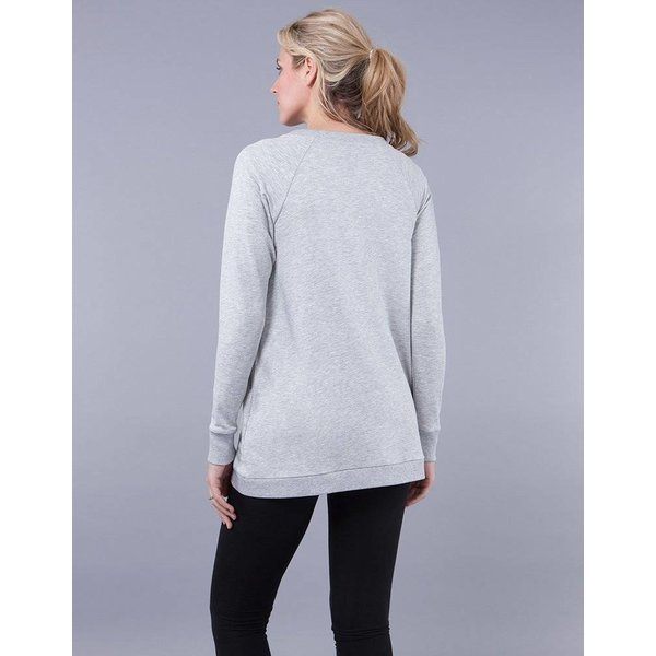 Sybil Front Wrap Sweatshirt