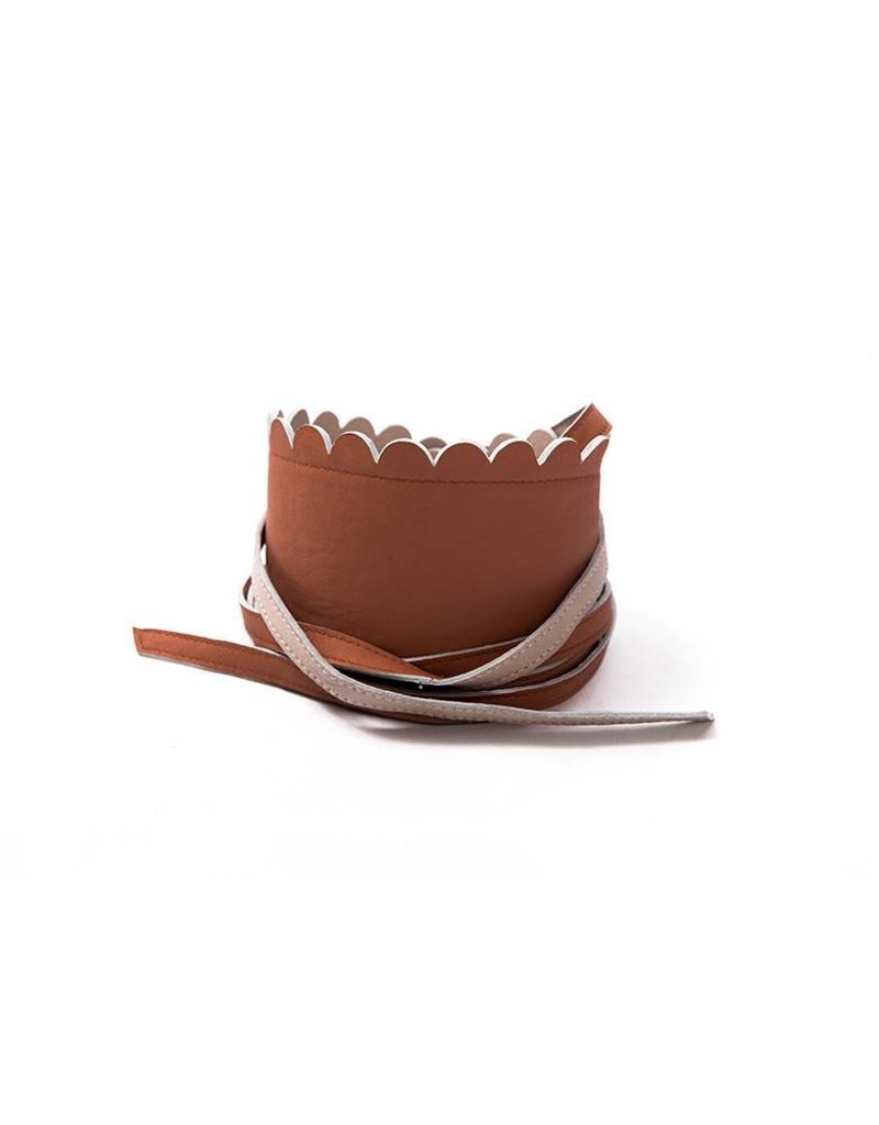 Seraphine Griffin Scallop Reversible Belt