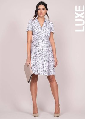 Seraphine Eponine Lavender Maternity Dress