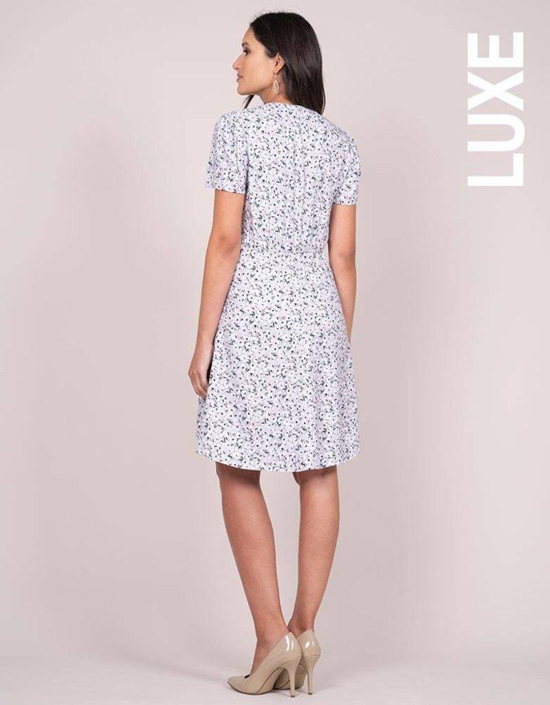 Seraphine Eponine Lavender Maternity Dress