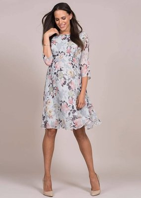 Seraphine Rose Woven Maternity Dress
