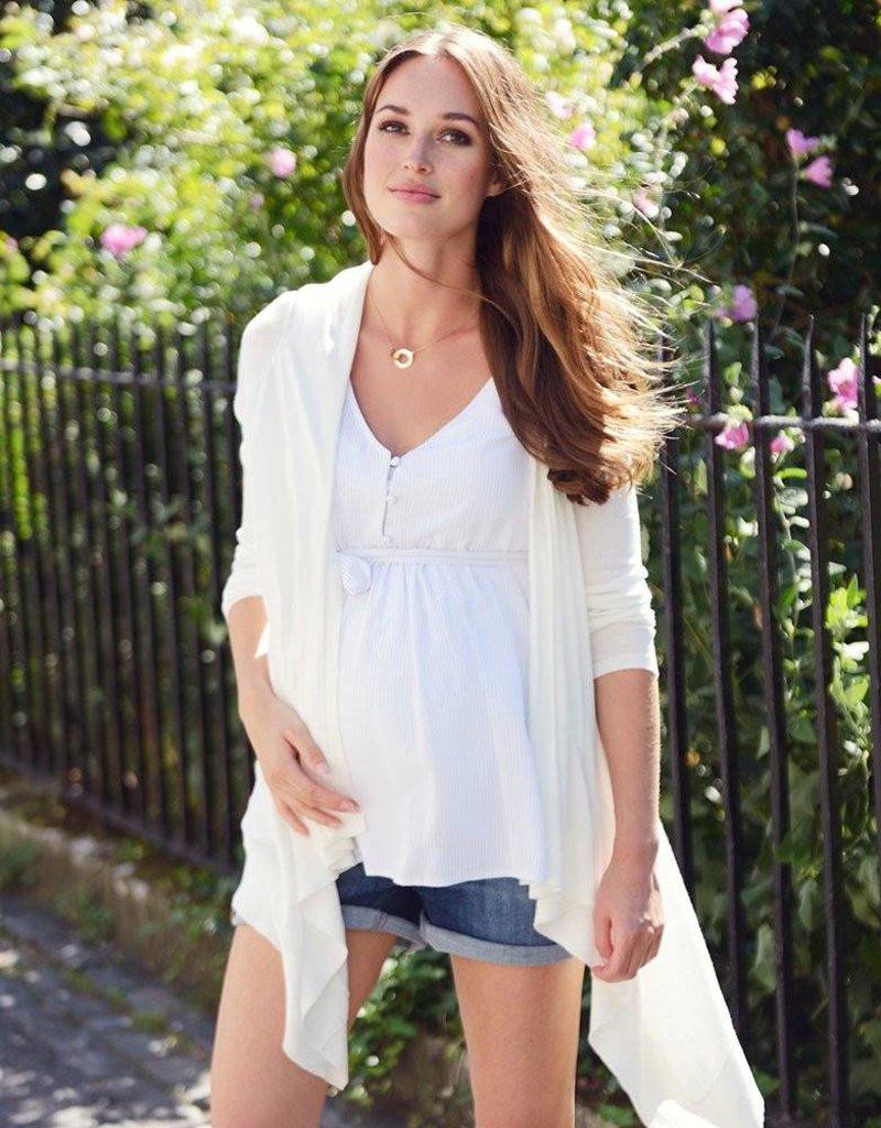Seraphine Eiza Woven Maternity & Nursing Top