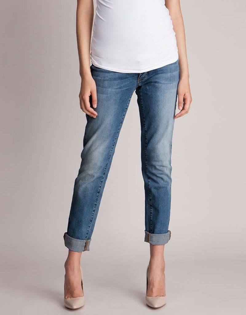 9f4236b947fb9 Seraphine Carson Slim Boyfriend Maternity Jeans Seraphine Carson Slim  Boyfriend Maternity Jeans ...