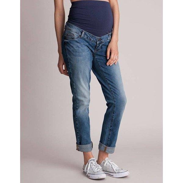 Carson Slim Boyfriend Maternity Jeans
