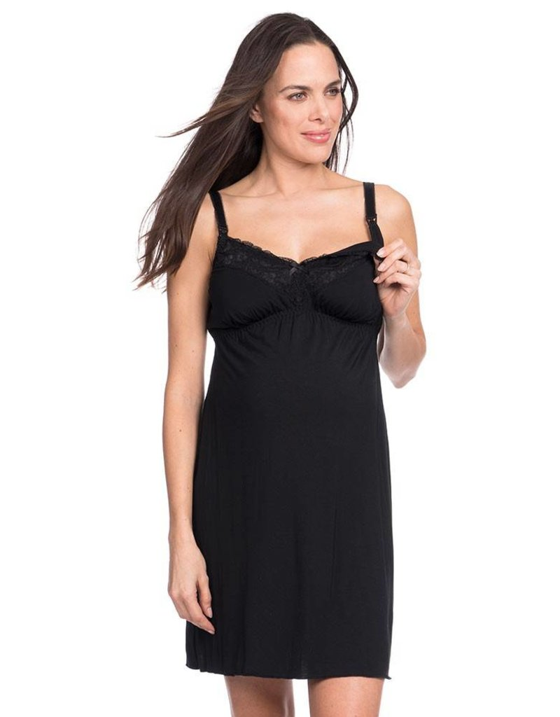 Seraphine Paris Lace Breastfeeding Nightie
