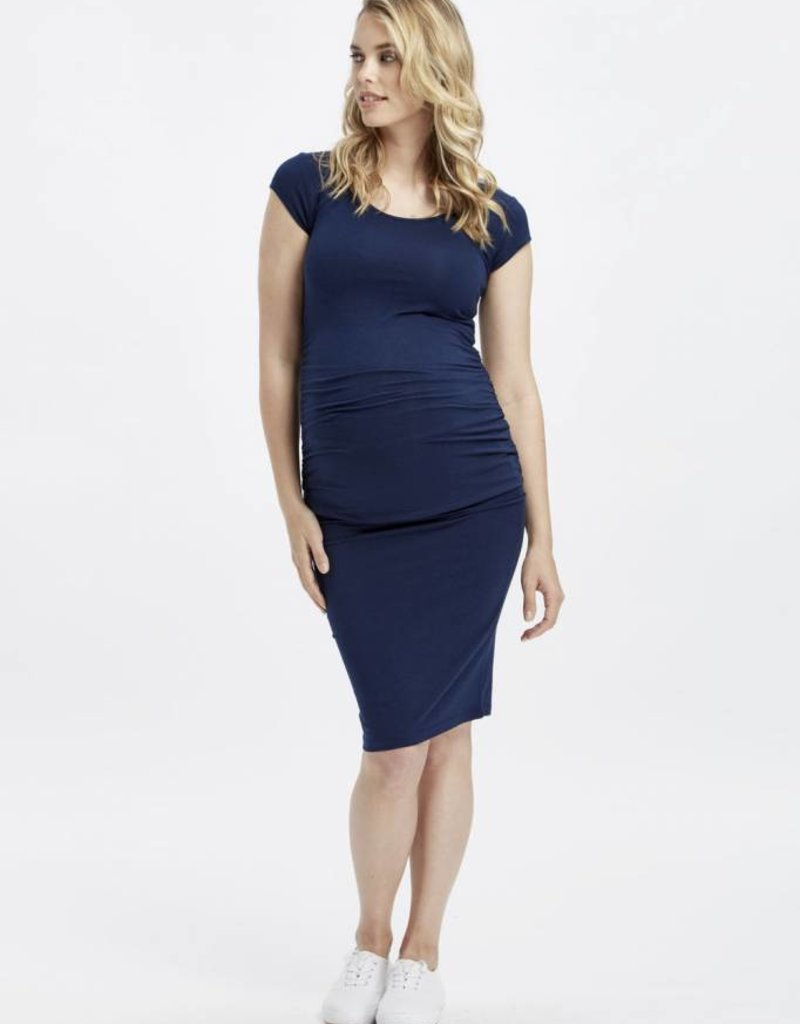 Bamboo Body Ruched Bamboo Maternity Tee