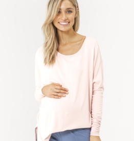 Bamboo Body Liv Long Sleeve Slouch Top